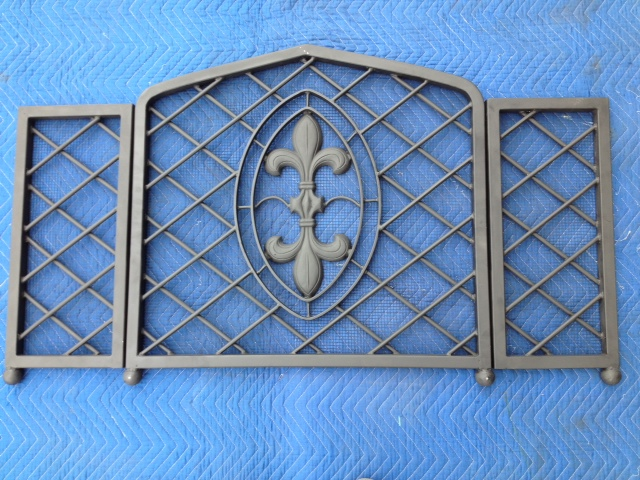 Fireplace screens san diego ornamental iron sdironfireplacescreens013g teraionfo